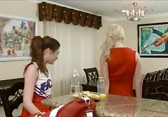 Old, drunk, Massage, breast, daughter-in-law while the young husband hot sex movie lying on a table wine