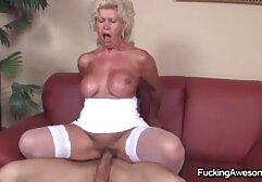 Wife Gaping her husband Anal hot blue film sex finished in anus full of cum violate